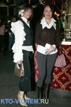 Бирюкова Наталья и Бондаренко Ксения (справа)